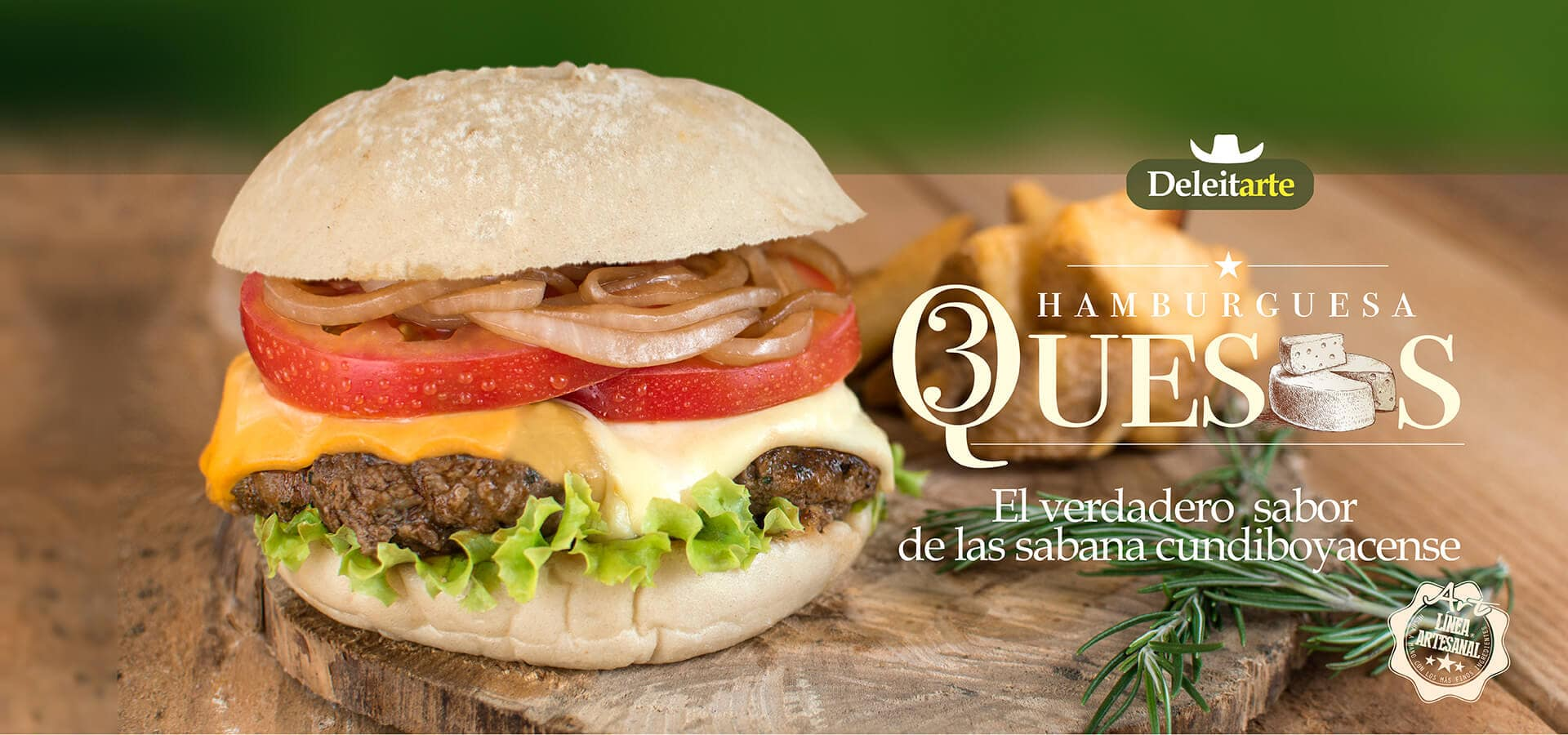 Quesos - Hamburguesas Can West